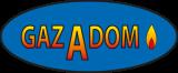 Gazadom logo bleu
